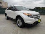 2011 White Platinum Tri-Coat Ford Explorer XLT #49514789