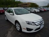 2011 White Suede Ford Fusion SE #49514628