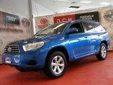 2008 Blue Streak Metallic Toyota Highlander 4WD #49515147