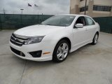 2011 Ford Fusion White Platinum Tri-Coat