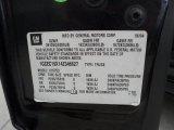 2004 Chevrolet Silverado 1500 LS Extended Cab Info Tag