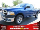 2011 Deep Water Blue Pearl Dodge Ram 1500 ST Quad Cab #49514698