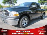 2011 Hunter Green Pearl Dodge Ram 1500 ST Quad Cab #49514699