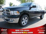 2011 Hunter Green Pearl Dodge Ram 1500 Big Horn Crew Cab 4x4 #49514700