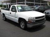 2000 Summit White Chevrolet Silverado 1500 LS Regular Cab #49515212