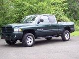 2001 Forest Green Pearl Dodge Ram 1500 SLT Club Cab 4x4 #49514854