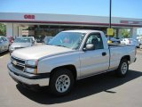 2006 Silver Birch Metallic Chevrolet Silverado 1500 Work Truck Regular Cab #49514882