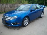 2011 Blue Flame Metallic Ford Fusion SEL #49566282