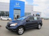 2008 Royal Blue Pearl Honda CR-V LX #49566291