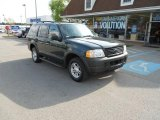 2003 Aspen Green Metallic Ford Explorer XLS 4x4 #49565920