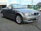 2005 Silver Grey Metallic BMW 3 Series 325i Convertible #49565753