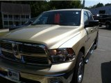 2011 White Gold Dodge Ram 1500 Big Horn Crew Cab #49565930