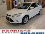 2012 Oxford White Ford Focus SEL Sedan #49565774