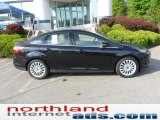2012 Tuxedo Black Metallic Ford Focus Titanium Sedan #49565775