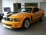 2007 Grabber Orange Ford Mustang Saleen Parnelli Jones Edition #49565789