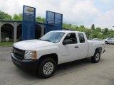 2011 Summit White Chevrolet Silverado 1500 Extended Cab 4x4 #49565807