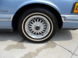 Lincoln Town Car 1994 Wheels and Tires