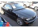 2006 Jet Black BMW 3 Series 330i Convertible #49565985