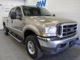 2004 Arizona Beige Metallic Ford F250 Super Duty Lariat Crew Cab 4x4 #49566203