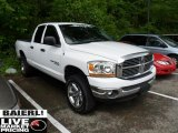 2006 Bright White Dodge Ram 1500 ST Quad Cab 4x4 #49565658