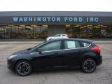 2012 Tuxedo Black Metallic Ford Focus Titanium 5-Door #49566065