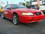 1999 Rio Red Ford Mustang V6 Coupe #49566444