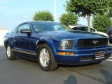 2007 Vista Blue Metallic Ford Mustang V6 Premium Coupe #49566446