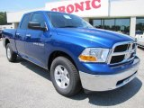 2011 Deep Water Blue Pearl Dodge Ram 1500 SLT Quad Cab #49565904