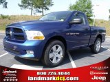 2011 Deep Water Blue Pearl Dodge Ram 1500 Express Regular Cab #49629702