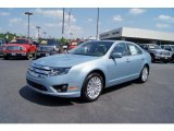 2011 Ford Fusion Light Ice Blue Metallic