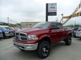 2011 Deep Cherry Red Crystal Pearl Dodge Ram 1500 Big Horn Quad Cab 4x4 #49629776