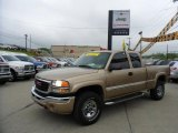 2007 Cashmere Metallic GMC Sierra 2500HD Classic SLE Extended Cab 4x4 #49629777