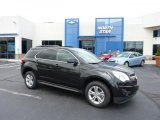2011 Black Granite Metallic Chevrolet Equinox LT AWD #49629724