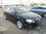2008 Deep Sea Blue Pearl Effect Audi A4 2.0T quattro S-Line Sedan #49629675
