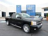 2011 Black Chevrolet Silverado 1500 LT Extended Cab 4x4 #49629745