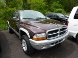 2004 Deep Molten Red Pearl Dodge Dakota SLT Quad Cab 4x4 #49629750