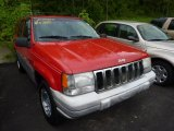 1998 Jeep Grand Cherokee Flame Red