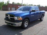 2011 Deep Water Blue Pearl Dodge Ram 1500 ST Quad Cab #49650924