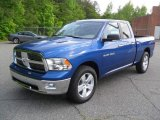 2011 Deep Water Blue Pearl Dodge Ram 1500 Big Horn Quad Cab #49650917