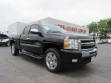 2009 Black Chevrolet Silverado 1500 LT Texas Edition Extended Cab #49650902
