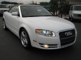 2008 Ibis White Audi A4 2.0T Cabriolet #49650951