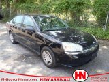 2005 Black Chevrolet Malibu Sedan #49656630