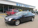 2008 Dark Blue Ink Metallic Ford Fusion SE #49657063