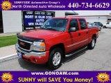 2005 Fire Red GMC Sierra 1500 Z71 Crew Cab 4x4 #49656965
