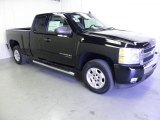 2011 Black Chevrolet Silverado 1500 LT Extended Cab #49657276