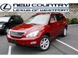 2009 Matador Red Mica Lexus RX 350 AWD #49657375