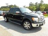 2010 Tuxedo Black Ford F150 Lariat SuperCrew #49657177