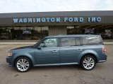 2010 Steel Blue Metallic Ford Flex SEL EcoBoost AWD #49657194