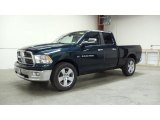 2011 Hunter Green Pearl Dodge Ram 1500 Big Horn Quad Cab 4x4 #49657399
