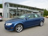 2008 Ocean Blue Pearl Effect Audi A4 2.0T quattro S-Line Sedan #49657092